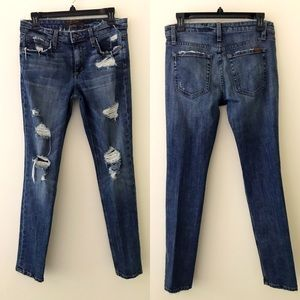 JOE'S JEANS Boyfriend Slim Distressed Jeans